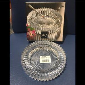 Mikasa Diamond Fire ashtray